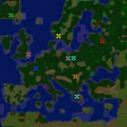 warcraft 2 world map